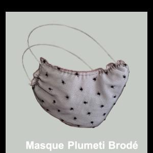 Masque Plumetis