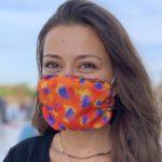 Masque Imprimé Flamenco