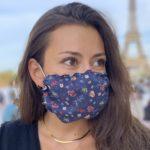 Masque Imprimé Voile Liberty