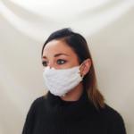 Masque Blanc matelassé